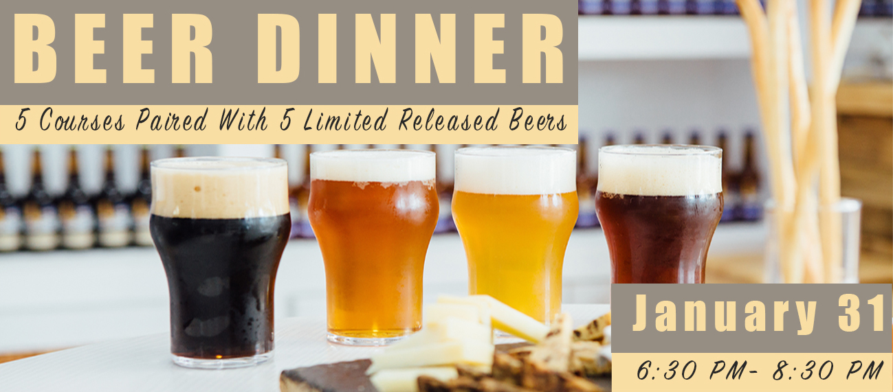 Beer Dinner Cover Photo